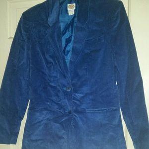 Picket and Post Royal Blue Jacket NWT Sz 10
